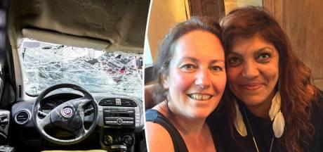 Corine zat zes dagen vast in autowrak: 'Het begint allemaal terug te komen'