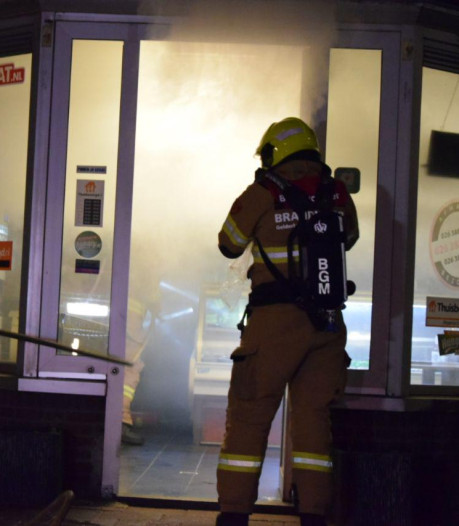 Keuken van pizzeria verwoest door brand