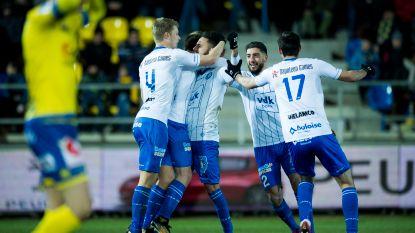 AA Gent pakt nog zege na alweer dramatische eerste helft
