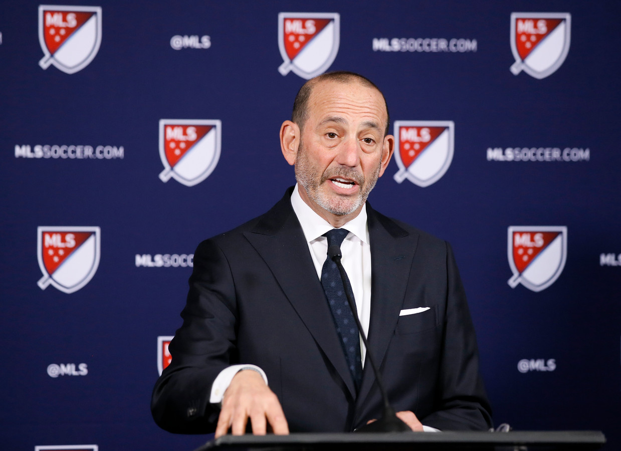 MLS-commissaris Don Garber.