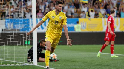 EK-KWALIFICATIE. Real-aanwinst Jovic met knappe goal - Ook Yaremchuk scoort - Spanje klopt Zweden