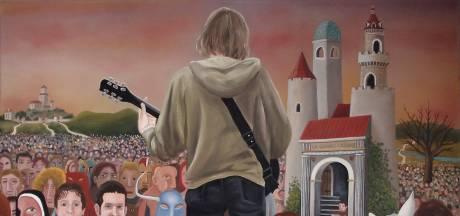 Schoonmaker Mattijn blijkt kunstenaar en gaat nu viral met zijn schilderijen