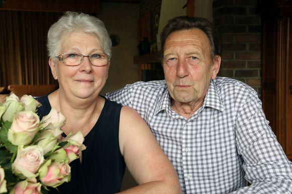 Frans Maes en Renild Liekens zijn 50 jaar getrouwd.