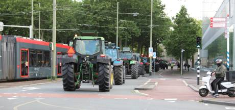 LIVE | Eerste boeren in trekkers komen aan bij Binnenhof in Den Haag