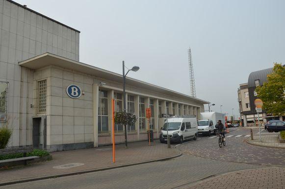 Het station van Denderleeuw