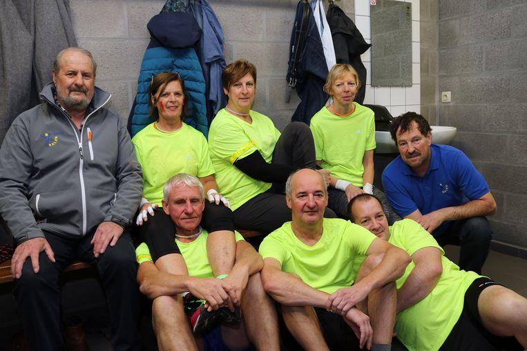 Ook een afvaardiging van de gemeentelijke sportraad, versterkt door ex-volleybalster en kersvers sportschepen Mien Vanden Broek (CD&V), nam deel aan de 1ste editie van het Blacklight Volleytornooi.
