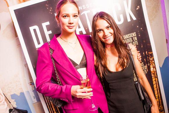 Lauren Versnick en Charlotte Timmers