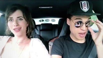 Lize Feryn en Aster houden hun eigen carpool karaoke