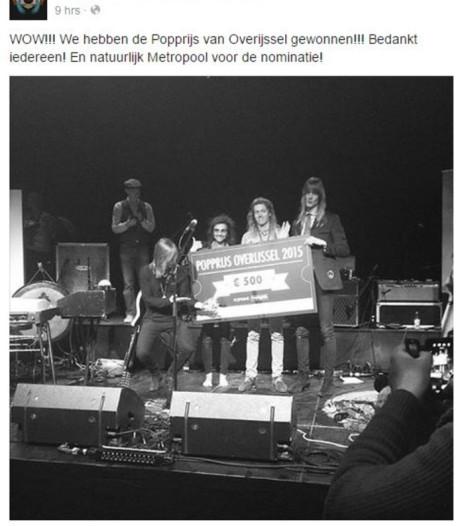 Popprijs Overijssel breidt uit en reikt drie prijzen uit in Enschede