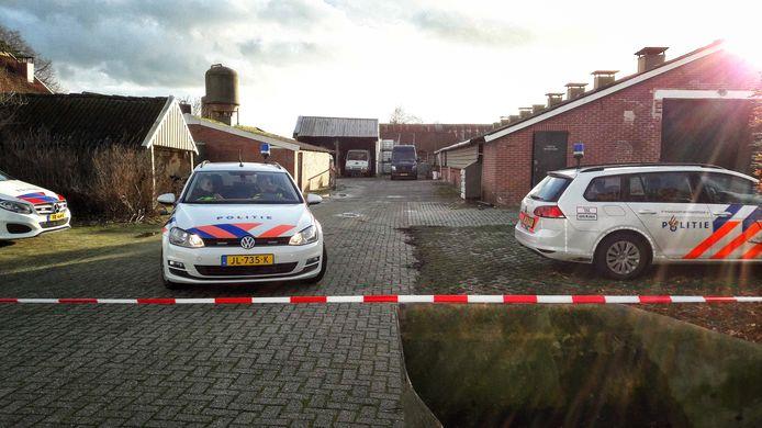 Aan de Oude Winterswijkseweg in Vragender werd begin dit jaar een drugslab aangetroffen in een oude varkensschuur.