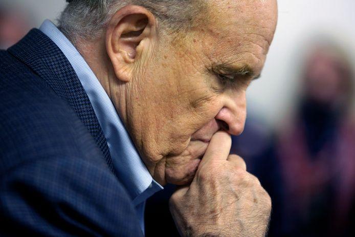 Rudy Giuliani is de advocaat van huidig president Donald Trump en de voormalige burgemeester van New York.