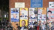 Opmerkelijk beeld in Theo-town: enkel affiche van Theo Francken beklad door vandalen