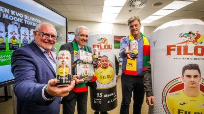KV Oostende en sponsor Filou 'blikken vooruit op de toekomst' met opmerkelijke actie: verkoop van unieke bierblikjes moet 250.000 euro opleveren