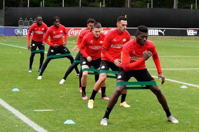 PSV trainde woensdag voor het laatst voor het duel met Granada.