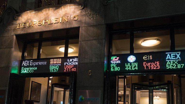 De hoofdindex op Beursplein 5 sloot met een winst van 0,5 procent op 570,07 punten. Beeld anp
