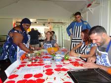 Statushouders en werkgevers komen én koken samen in Esch