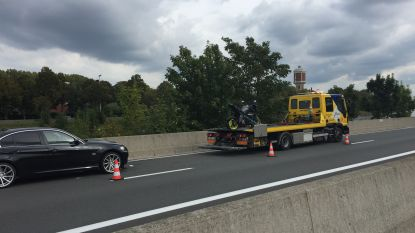 Motorrijder gewond na ongeval op de R4 in Gent