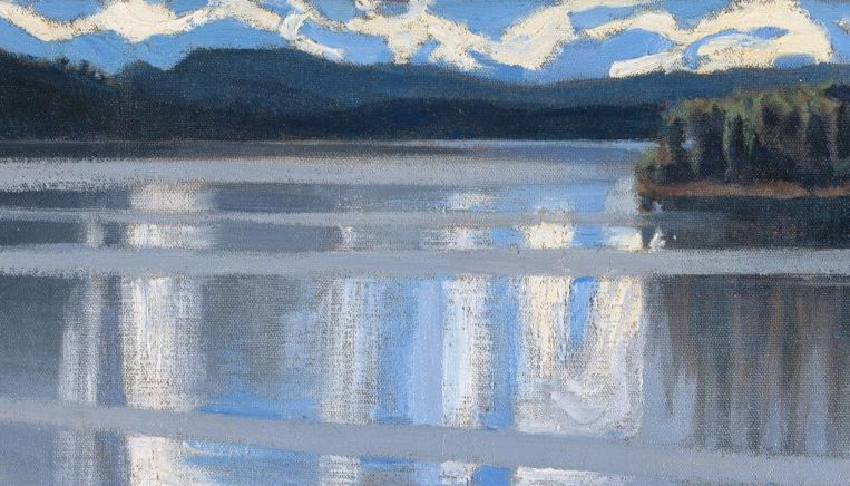 Van mevr Joke Zonneveld, uit: Akseli Gallen-Kalleia, Lake Keitele, 1905, National Gallery Londen Beeld National Gallery Londen