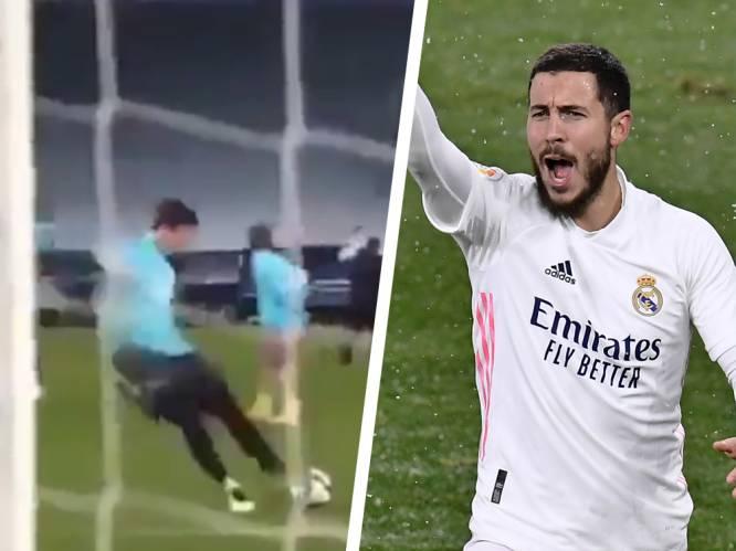 """Terwijl Courtois traptechniek showt, wordt druk op Hazard nog wat opgevoerd: """"Het is nu of nooit"""""""