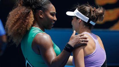 US Open-kampioene naar tweede ronde, ook Serena verliest geen tijd Djokovic simpel voorbij qualifier - Halep heeft drie sets nodig