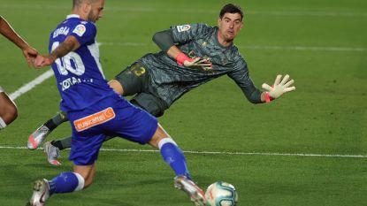 """Zidane blij met alwéér een clean sheet, Courtois is al 457 minuten ongeslagen: """"Het is fenomenaal, wat hij doet"""""""