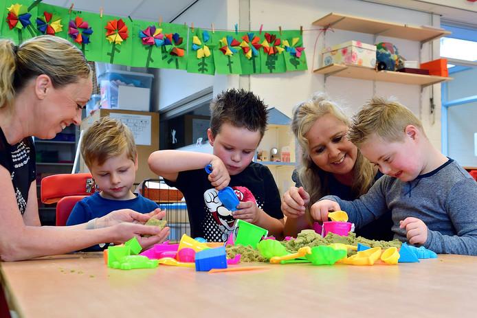 Op basisschool De Kroevendonk worden nauwelijks leerlingen naar het speciaal onderwijs verwezen.
