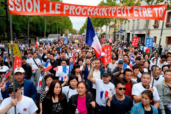 En 2016, la communauté chinoise de France avait manifesté dans les rues de Paris après l'agression mortelle de Zhang Chaolin, un couturier chinois de 49 ans.