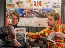 Maker van sexy kalenders uit Deventer gaat op serieuze tour met boek over boerenprotesten