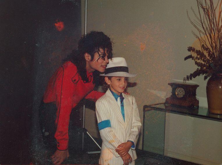 Wade Robson werkte als danser samen met Michael Jackson.