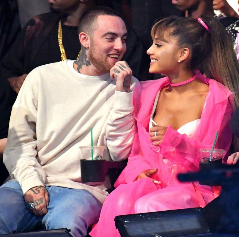 Mac Miller en Ariana Grande.