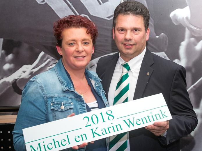 Michel Wentink: de nieuwe voorzitter van HSC.