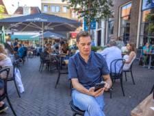 Verslaggever Caspar ging deze week op pad met de CoronaMelder: 'Toch een tikje teleurgesteld'