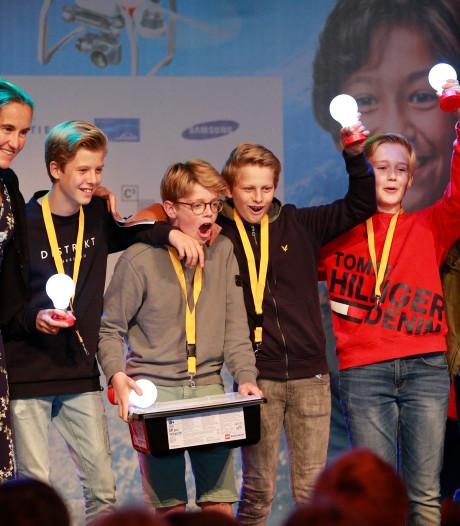 Een broek die energie opwekt, het winnende idee van de Utrechtse Paulusschool