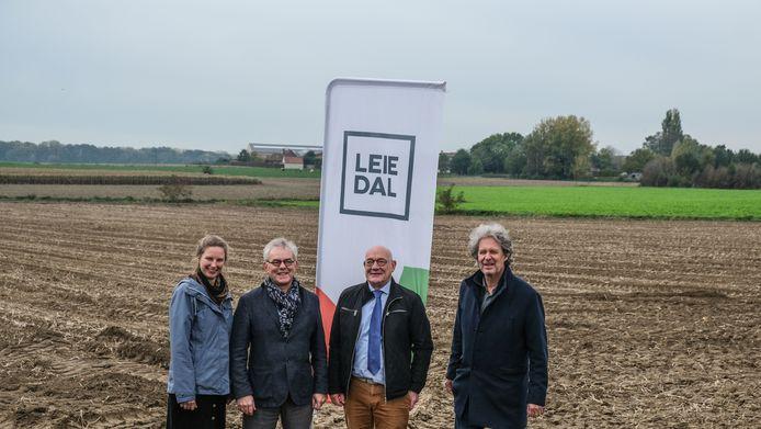 De intercommunale Leiedal geeft 1 hectare woonuitbreidingsgebied in Sint-Denijs vrij om er een duurzaam openruimteproject te realiseren.