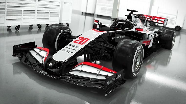 Vorige week liet Haas de eerste beelden van hun nieuwe bolide zien.