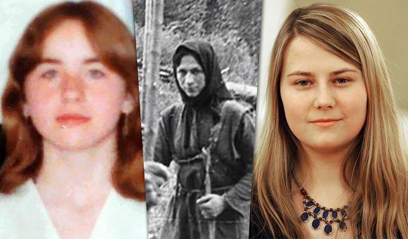 Elisabeth Fritzl, Agafia Lykov en Natascha Kampusch.