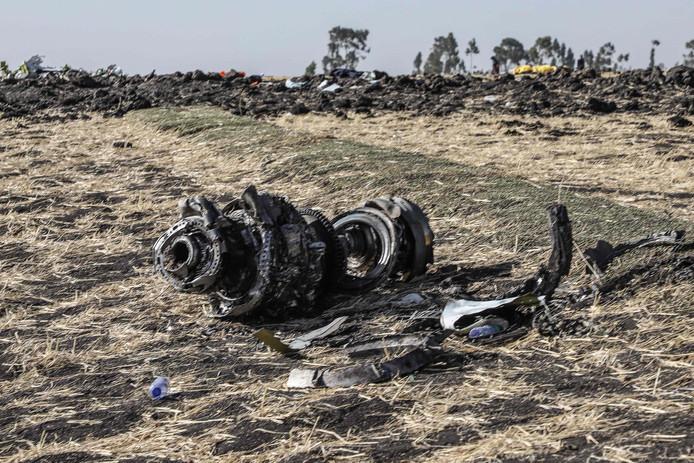 De Boeing 737 MAX 8 crashte een paar minuten na het opstijgen van de luchthaven van Addis Abeba.