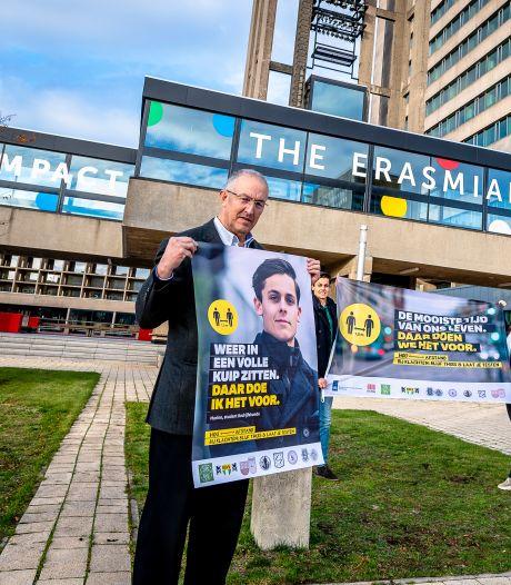 Nóg een campagne om studenten op coronamaatregelen te wijzen: 'We willen heus meedoen'
