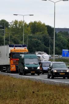 Automobilist staat in en rond Dordrecht 9 procent van de tijd stil