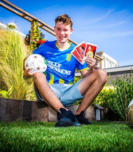Voor infectiegevoelige voetbalfan Maarten (16) is corona funest, maar FC Barcelona en Arsenal lonken