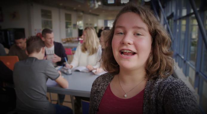 voorlichtingsfilm met vloggende leerling van het Melachton Blesewic in Bleiswijk Mavo Havo en VWO