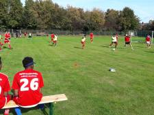 Afghanen en Syriërs voetballen voor Achterhoekse teams in Duitsland