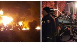 Pijpleiding in Mexicaans stadje explodeert terwijl honderden inwoners jerrycans met lekkende brandstof vullen: zeker twintig doden