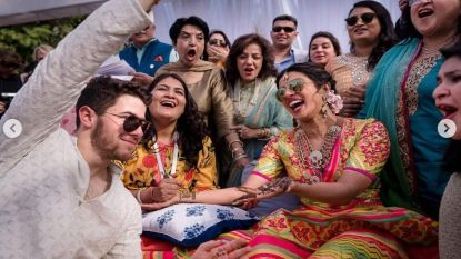 IN BEELD: het riante huwelijk van Nick Jonas (26) en Priyanka Chopra (36) in India