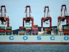 Megaschip met recordruimte voor 21.000 containers op de Westerschelde