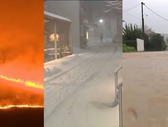 VIDEO. Van bosbranden tot overstromingen: het weer is in heel Europa in de war