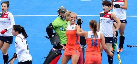 Hockeyvrouwen beginnen met monsterzege aan WK in Londen