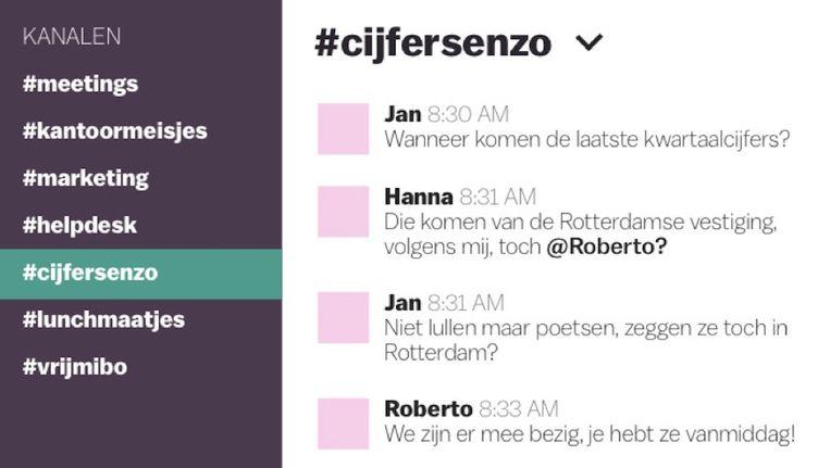 Volgens The Next Web-oprichter Boris Veldhuijzen van Zanten redde Slack zijn bedrijf Beeld .