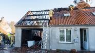 Brand vernielt huis en tattoostudio van jong gezin