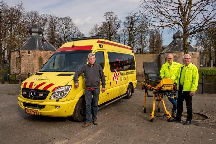 WensAmbulance Brabant heeft sinds begin deze maand met Breda een vijfde locatie om een ambulance te stallen.